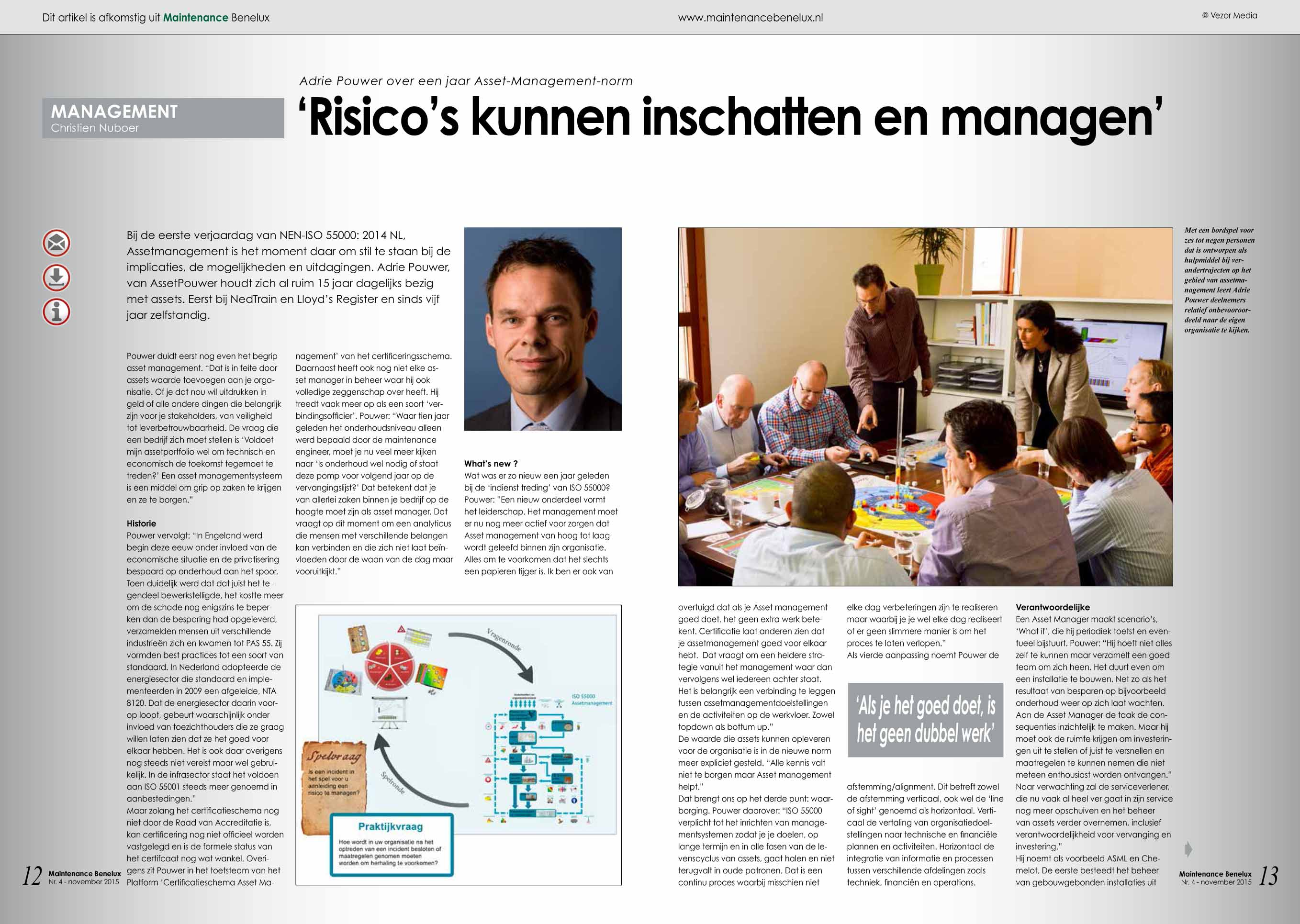 Interview Maintenance Benelux Assetmanagement